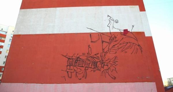Новое граффити посвятят спасателям